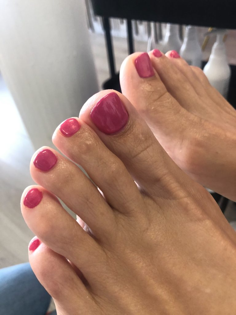Pedicure with Gel polish / gellak Rotterdam