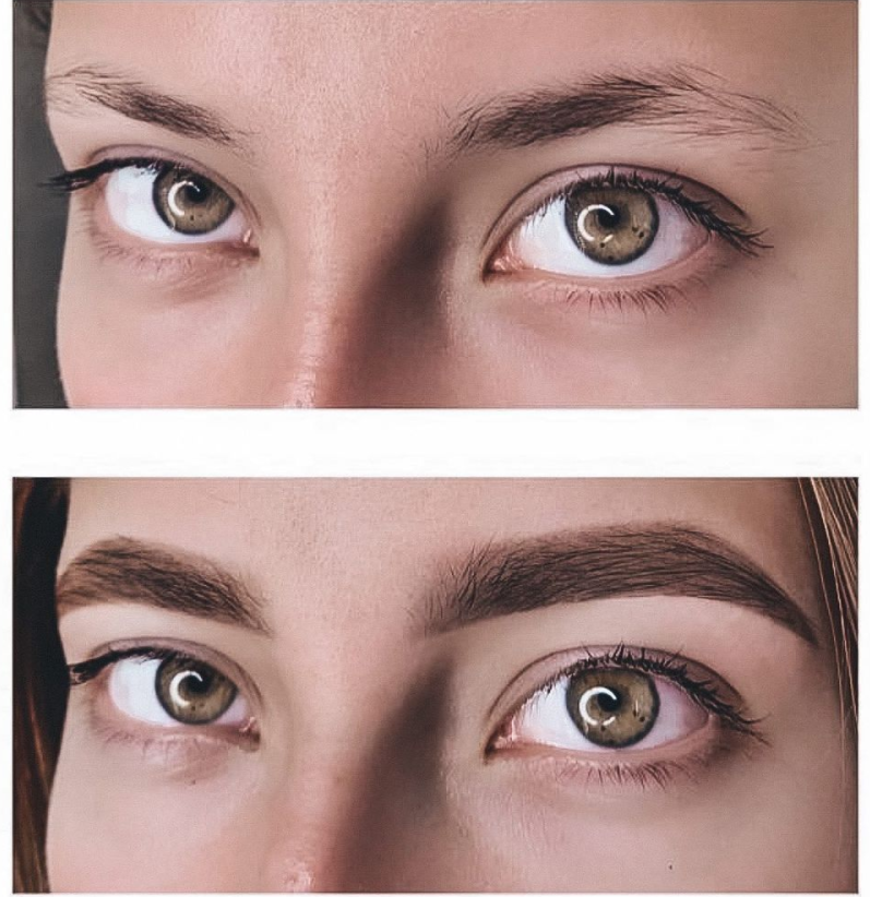 Brows Dye and Shaping