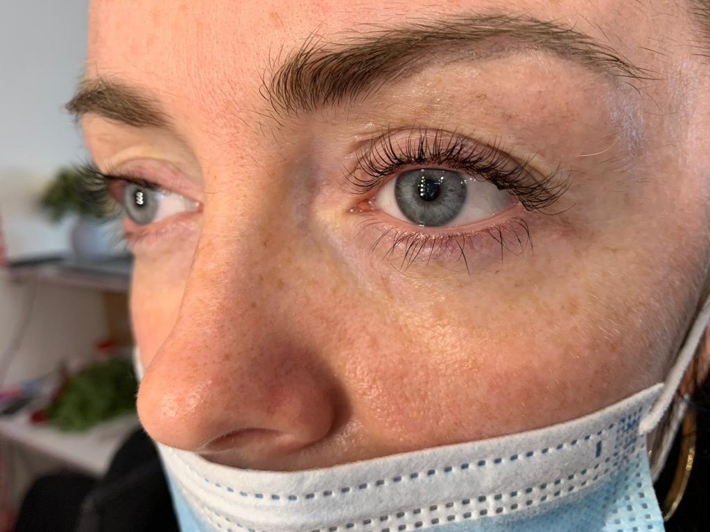 Eye Lash Lamination and Lift